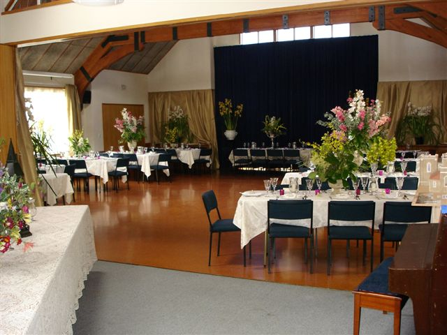 community centre hall booking